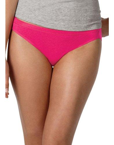 Hanes Comfort Soft Cotton Bikini 3 Pack White # 42LBWH