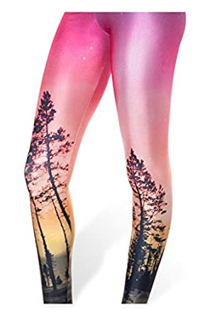 Amour - Women Rock X-ray Skeleton Bone Skull Leggings Tights Black (Regular Size, EARTHLY DELIGHTS)