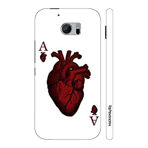 Enthopia Designer Hardshell Case Ace of Hearts Back Cover for HTC One M10