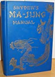 img - for The ma-jung manual, book / textbook / text book
