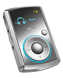 SanDisk Sansa Clip 4 GB MP3 Player (Silver)