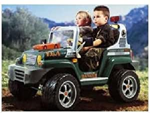 peg perego rodeo ranger 4x4 12v ride on jeep toys games. Black Bedroom Furniture Sets. Home Design Ideas