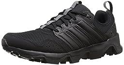 adidas Outdoor Men\'s GSG9 Trail Running Shoe, Black/Black/Black, 9 M US