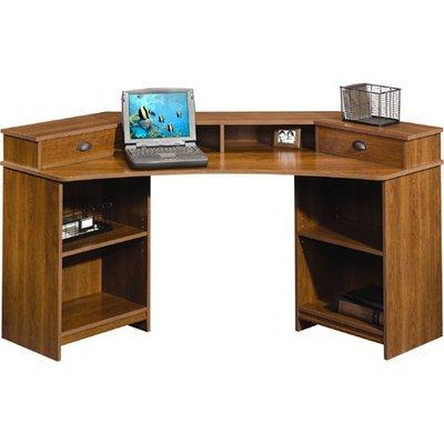 Buy Low Price Comfortable Sauder Whistler Corner Computer Desk (Shaker Cherry) (B002YX3MRE)