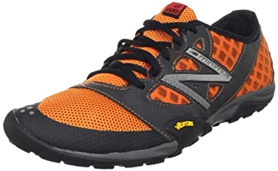 New Balance Men's MT20v1 Trail Minimus Shoe,Orange/Black,9.5 D US