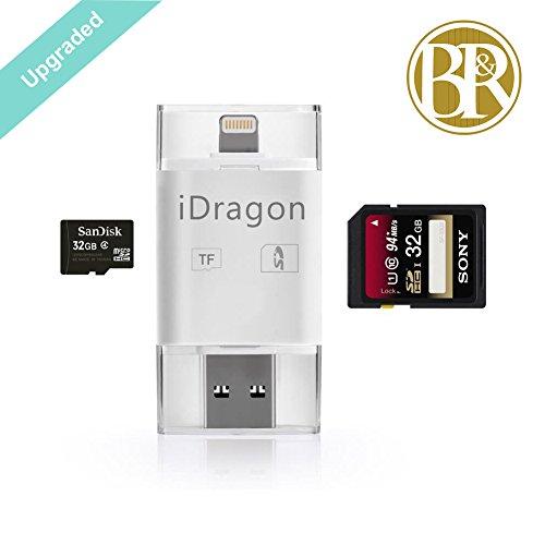 Ba Reiths iphone6/5S電話カード&iPad4/5&TF / SDカード&カメラキット& Androidコンピューター リーダー (リーダー)