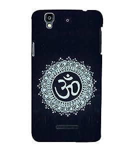 EPICCASE Om case Mobile Back Case Cover For YU Yureka Plus (Designer Case)