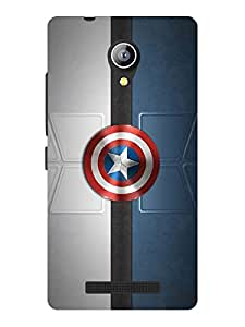 TREECASE Designer Printed Soft Silicone Back Case Cover For Micromax Bolt Q370