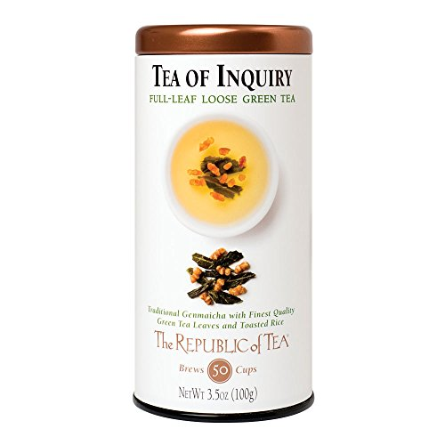 The Republic Of Tea Tea Of Inquiry Full-Leaf Tea, 3.5 Ounces / 50-60 Cups