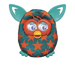 [Best price] Stuffed Animals & Plush - Furby Boom Orange Stars Plush Toy - toys-games
