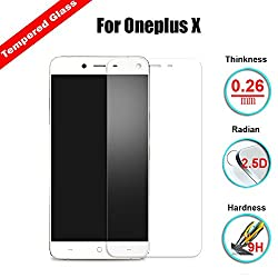 Chevron [Tempered Glass With Sensor Cut Out] 0.3mm 2.5D Screen Protector For OnePlus X