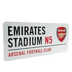 Arsenal Street Sign - (40cm x 18cm) - One Size