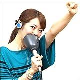 お家でカラオケ練習 エコー+防音マイク 『一人deカラオケ』