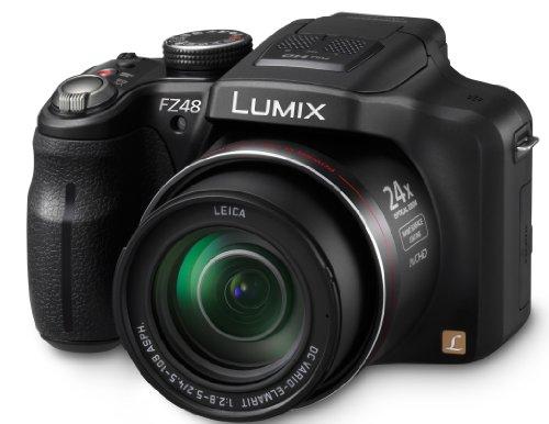 Panasonic Lumix DMC-FZ48EB-K Hybrid Super Zoom