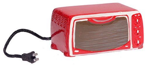 Dollhouse Miniature 1:12 Scale Red Toaster Oven #T8426 front-434933