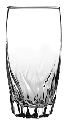 Anchor Hocking 16-Ounce Central Park Tumbler Beverage Set, Set of 12