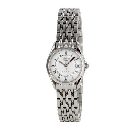 [ロンジン]LONGINES 腕時計 クラシック ホワイト文字盤 デイト L4.298.4.11.6 レディース 【並行輸入品】