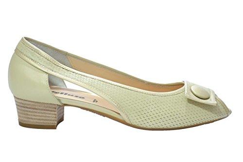 Melluso Decolte' ballerine beige scarpe donna N353 41