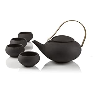 Teavana black pebble teapot set teapots - Teavana tea pots ...