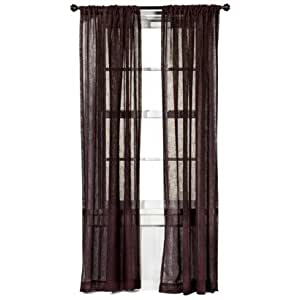 2 piece of target home faux linen window