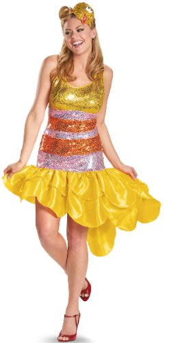 Big Bird Glam Adult Costume - Large