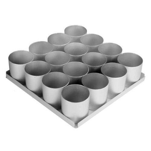 Alan Silverwood 16 pieceRound Multi Mini Cake Pan Set 2.5 deep