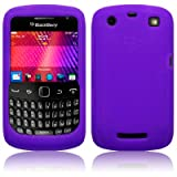 BlackBerry Curve 9360 Silicone Skin Case / Cover / Shell - Purple