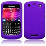 BlackBerry Curve 9360 Silicone Skin Case / Cover / Shell - Purple