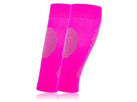 Full Force Compression Calfs, No Foot, pink
