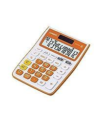 Casio MJ-12VC Electronic Calculator(Orange)
