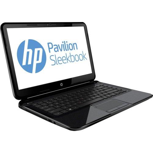 HP Pavilion 14-b031us Sleekbook 14.0in Laptop (Intel Pentium 1.50GHz CPU, 4GB DDR3 SDRAM, 320GB Hard Drive, Bluetooth...