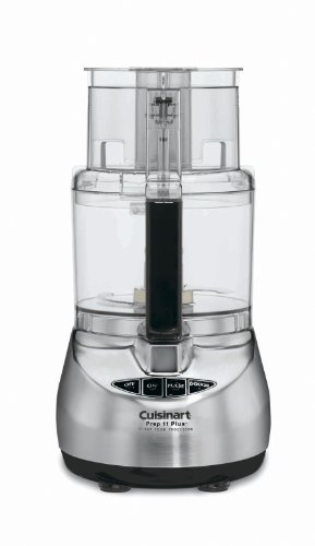 Cuisinart DLC-2011CHB Prep 11 Plus 11-Cup Food Processor, Brushed Stainless