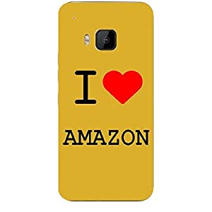Skin4gadgets I love Amazon Colour - White Phone Skin for HTC ONE M9