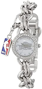 Game Time Ladies NBA-CHM-CLE Charm NBA Series Cleveland Cavaliers 3-Hand Analog Watch by Game Time