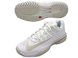 Nike Lunar Ballistec 1.5 White/Summit White/Light Bone Women\'s Tennis Shoes