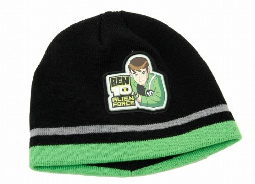 Childrens/Kids Boys Ben 10 Winter Hat (Black)
