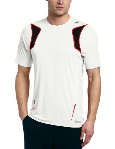 ASICS Asics Men's Ard Short Sleeve Shirt, Medium, White
