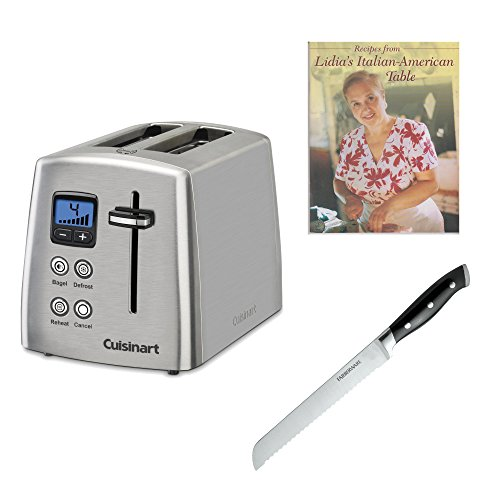 Cuisinart CPT-415 2-Slice Toaster (Stainless Steel) Bundle (Cuisinart Toaster Cpt 440 compare prices)