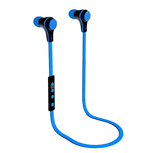 "Best_Express ""Isport"" Series High-Grade Mini Wireless Stereo Sports/Running & Gym/Exercise Bluetooth Earbuds Headphones Headsets W/Microphone For Iphone 5S 5C 4S 4, Ipad 2 3 4 New Ipad,Ipad Air Ipod, Android, Samsung Galaxy S5,Galaxy 4,Galaxy 3,Sony L39H,"