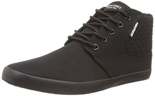 jack-and-jones-jj-vertu-clean-canvas-core-mens-hi-top-sneakers-black-black-7-uk-41-eu