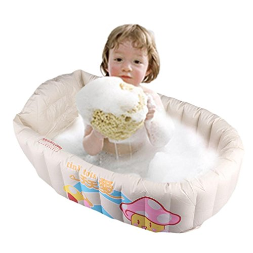 other toys inflatable baby bathtub cartoon safety inflating bath tub for toddlers kid protable. Black Bedroom Furniture Sets. Home Design Ideas
