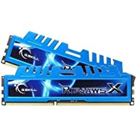 G.SKILL Ripjaws X Series 16GB (2 x 8GB) 240-Pin SDRAM DDR3 1600 (PC3 12800) Desktop Memory