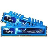 G.SKILL F3-1600C9D-16GXM Ripjaws X Series 16GB (2 x 8GB) 240-Pin DDR3 SDRAM DDR3 1600 (PC3 12800) Desktop Memory