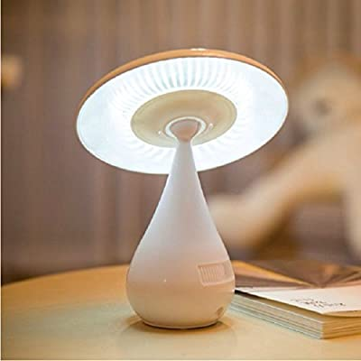 WangO Creative Mushroom Shaped Ionizer Air Purifier 48 LED Children Eye Protective Desk Lamp