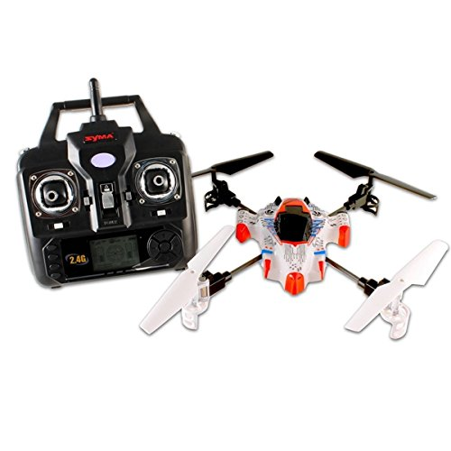 Pixnor X1 2.4Ghz 4-Ch 3-Axis Gyro 360-Degree Eversion Rc Quadcopter With Led Lights