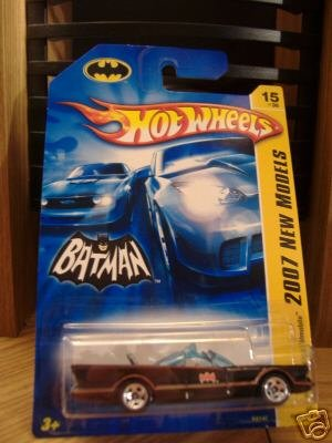 Hot Wheels 2007 First Editions 1966 TV Series Batmobile #15/36