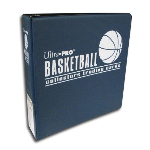 Ultra Pro 3 Ring Blue Basketball Card Album