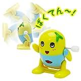 ふなっしー バク転ふなっしー ゼンマイ マスコット 宙返り ジャンプ トイ おもちゃ 千葉県 船橋市 ゆるキャラ グッズ