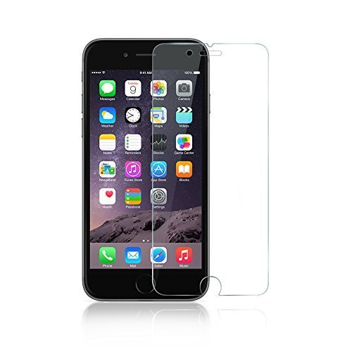 iPhone 6 Screen Protector, Anker Premium Tempered Glass Screen Protector (4.7 inch) for Apple iPhone 6 (2014) 9H Hardness and Easy Bubble-Free Installation [Lifetime Warranty]