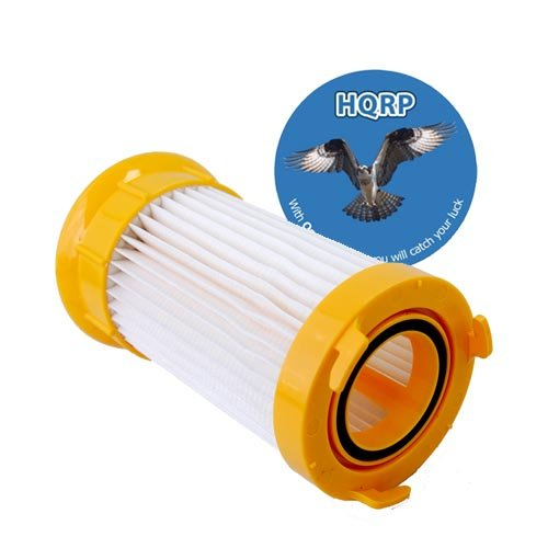 Hqrp Washable & Reusable Filter For Eureka 4700 / 5500 Series Uprights Vacuums P/N: 63073 / 63073A Plus Hqrp Coaster